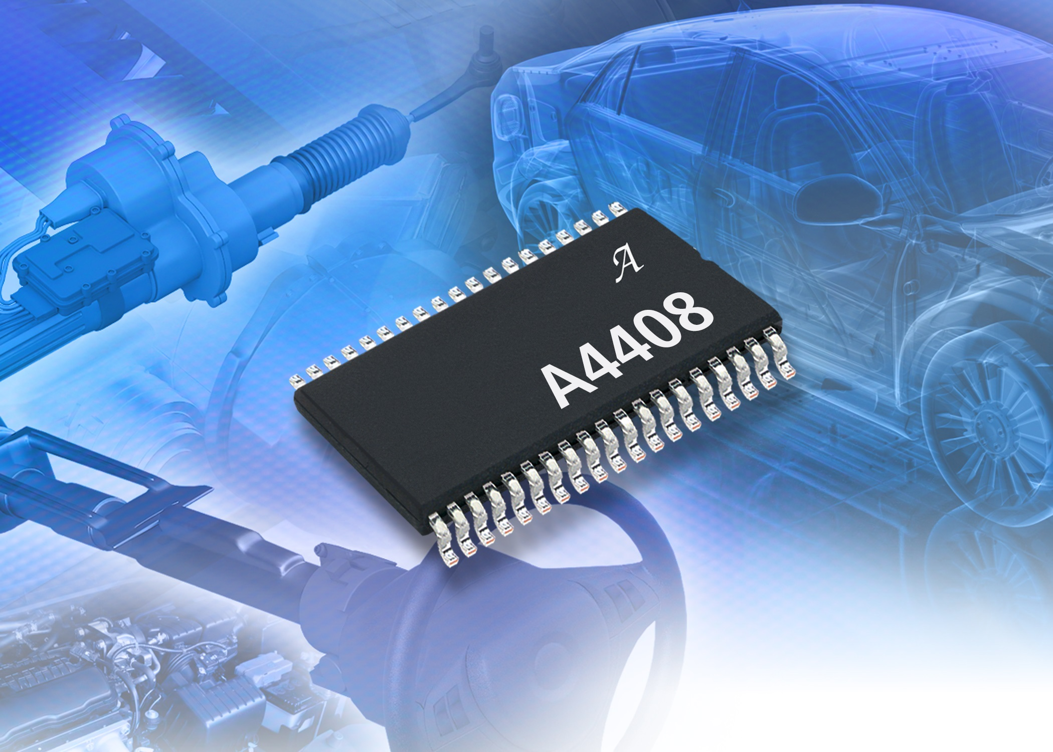 Allegro Microsystems Europe Ltd News From Escom The Circuit Uses A Halleffect Sensor Which Consists Of An Ic That Automotive Pmic Buck Boost Pre Regulator With Diagnostics