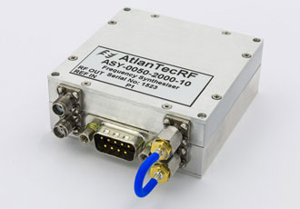 Miniature frequency synthesiser covers 0.5-20GHz range