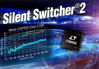 Synchronous step-down switching regulator offers 94% efficiency