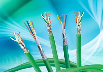 Cables suitable for data-intensive IIoT environments