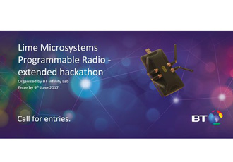 Hackathon created for wireless network applications