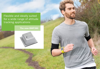 Compact barometric pressure sensor launched at CES 2017