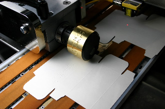 Braille embossing capabilities meet pharmaceutical requirements