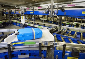 Next-gen end-to-end baggage handling system at Inter Airport SEA