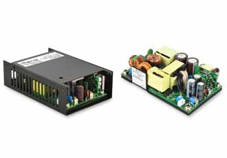 AC/DC power supply series offer high efficiency in a small package
