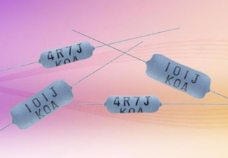 Fusible power wirewound resistors for smart meter applications