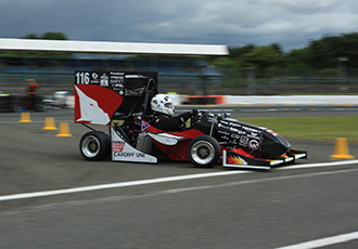 British team is crowned the winner of Formula Student 2017