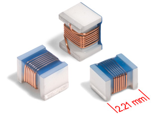 Ceramic chip inductors provide high Q factor