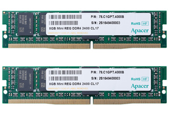 Compact memory module improves system stability