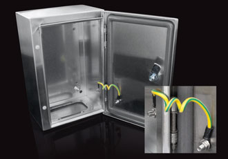 Lockable stainless steel enclosures for extreme environments