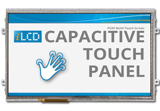 Largest iLCD available with projected capacitive touch panel