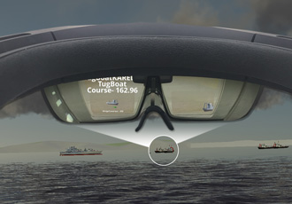 Augmented reality technology trains naval officers