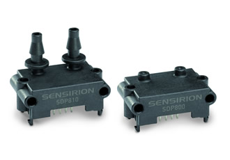 Differential pressure sensors combine accuracy, stability & functionality