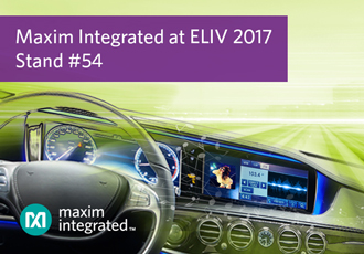 Automotive design innovation on display at ELIV 2017