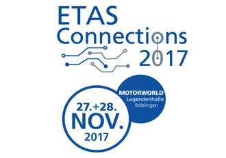 Next-gen automotive systems discussed at ETAS Connections