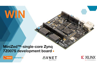WIN! MiniZed-single-core Zynq 7Z007S development board