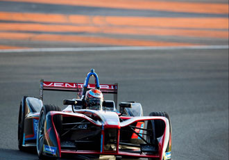 Formula E racing team provided with ROHM SiC power modules