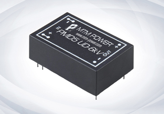 DC/DC converter offers 6kV isolation voltage