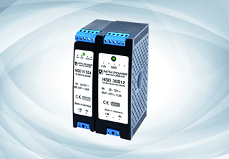 Primary switched DIN rail modules offer efficiency in low-power applications