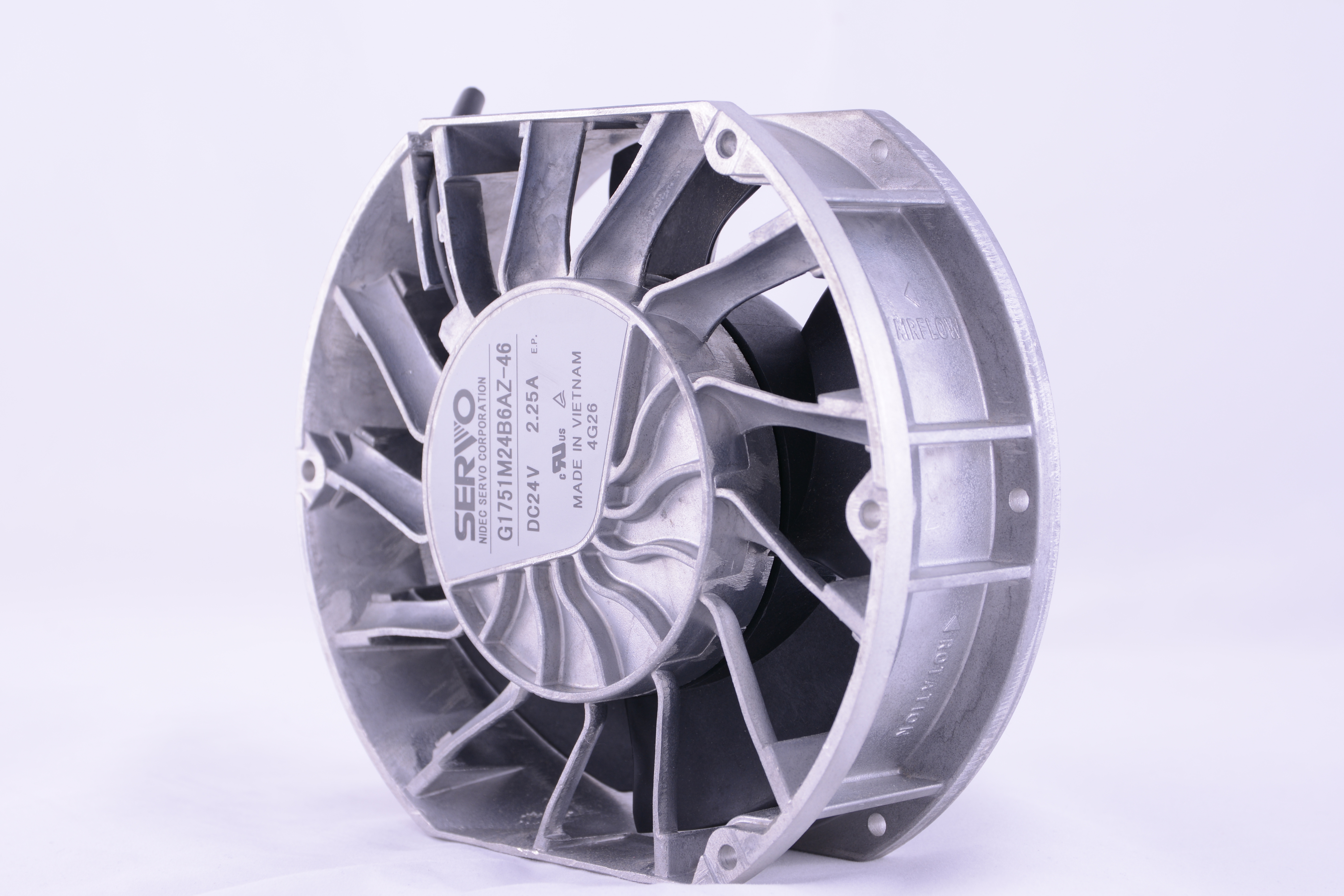Frameless Fans Offer Longevity Silence With Fluid Bearings Fan Starts To Rotate At 40 C On The Heatsink Design Re Invents Static Pressure