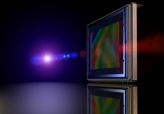 Imaging sensors feature CMOS global shutter mode