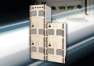 Regulated high voltage DC power supplies boast fast response