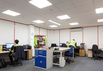 LED lighting delivers energy savings to logistics company
