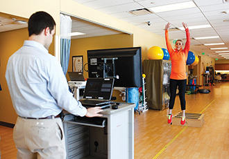 Video game system helps physical therapists