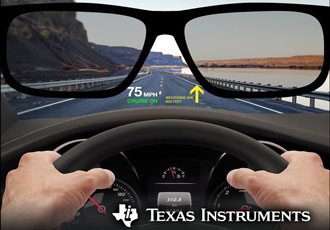AR places critical information within driver's line of sight