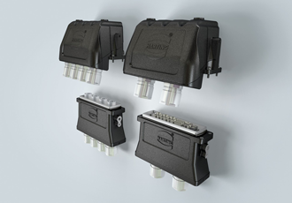 Connector generates greater power density in rail vehicles