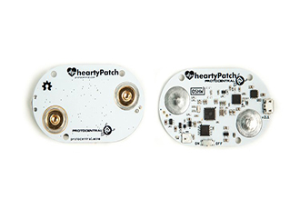 HeartyPatch: an open-source ECG for heart rate tracking