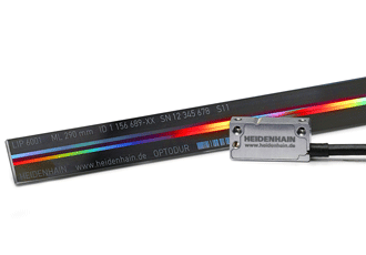 Compact linear encoder suitable for feedback applications