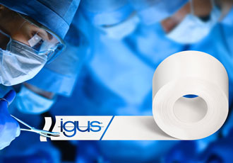 Antibacterial iglidur tribo-tape designed for medical equipment