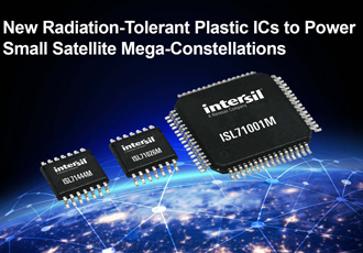 Radiation tolerant ICs to power small satellite constellations