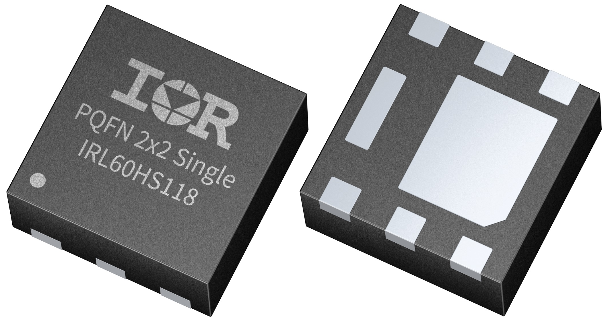 MOSFETs' small package increases density and saves space