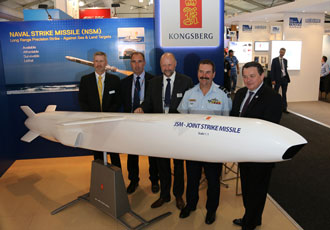Kongsberg signs contract with Australia for Joint Strike Missile integration
