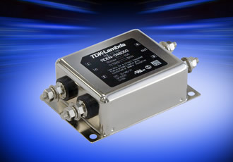 Compact 75VDC input EMC Filter is rated for 50A