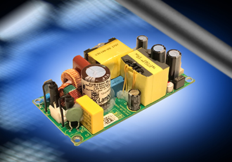 Medical power supplies operate in temperatures up to 80°C