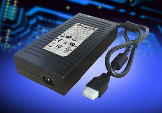 300W medical power supplies offer Class I or II inputs