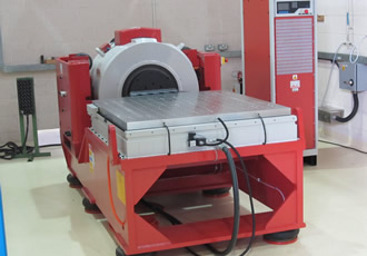 Electrodynamic test system provides windmilling vibration analysis