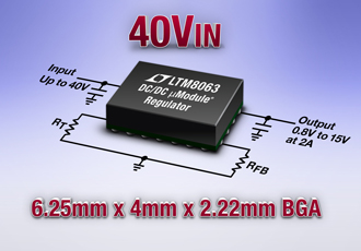 µModule regulator suitable for imaging and RF systems