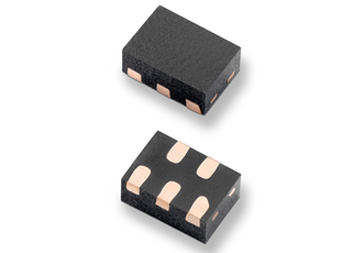 Compact TVS diode array suitable for mobile devices