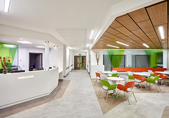Lighting controls enable cost reduction in hospital refurb