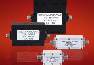 New low pass filters designed for frequency bands