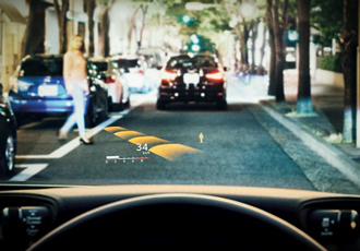 Head Up Displays to limit vehicular accidents in the future