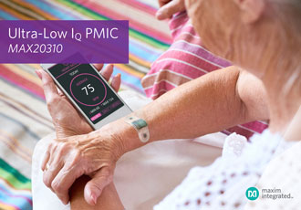 PMIC reduces wearable solution size by 50%