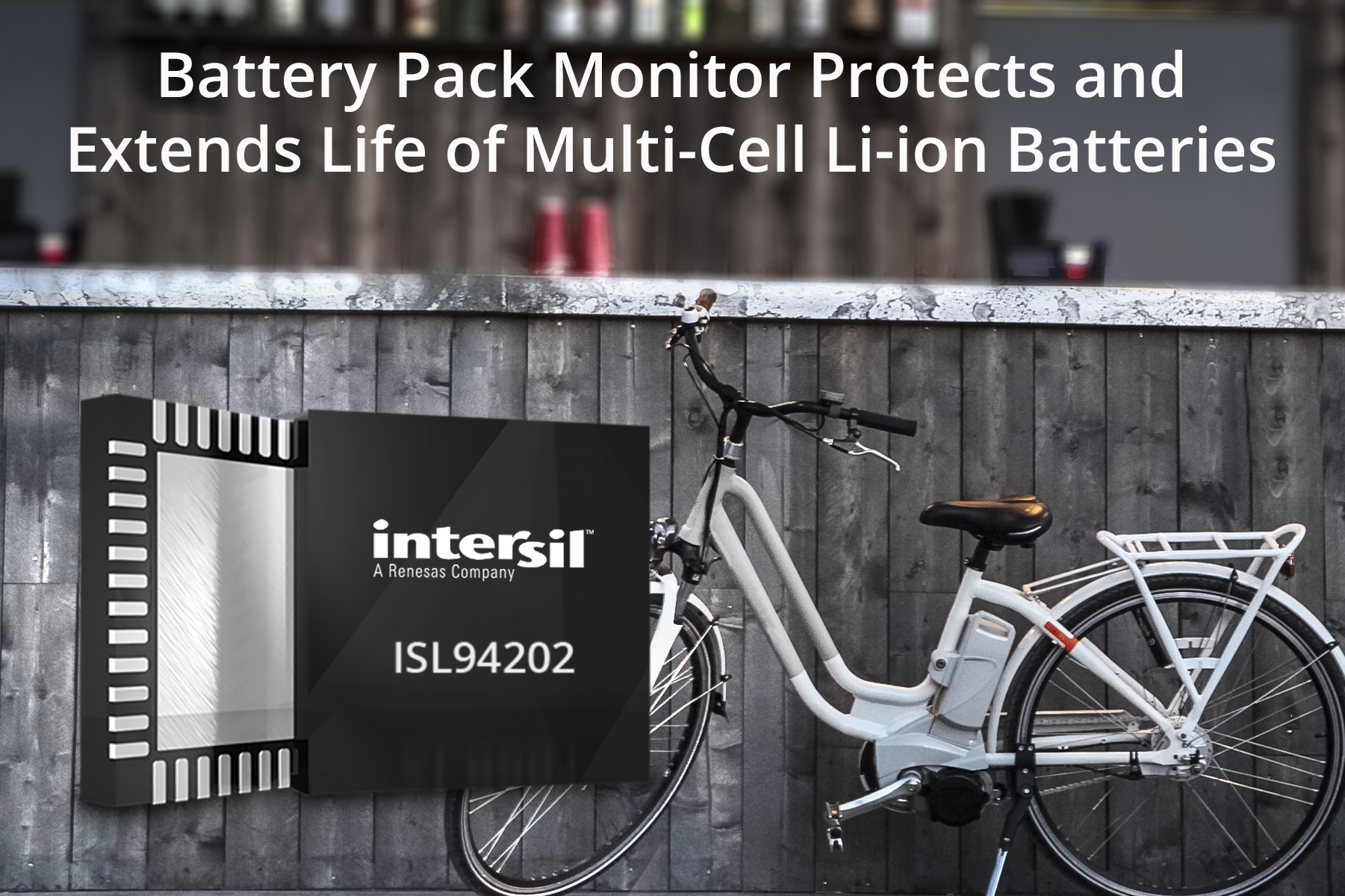 Rutronik adds battery pack from Intersil in its portfolio