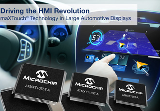 Touchscreen controllers designed for HMI applications