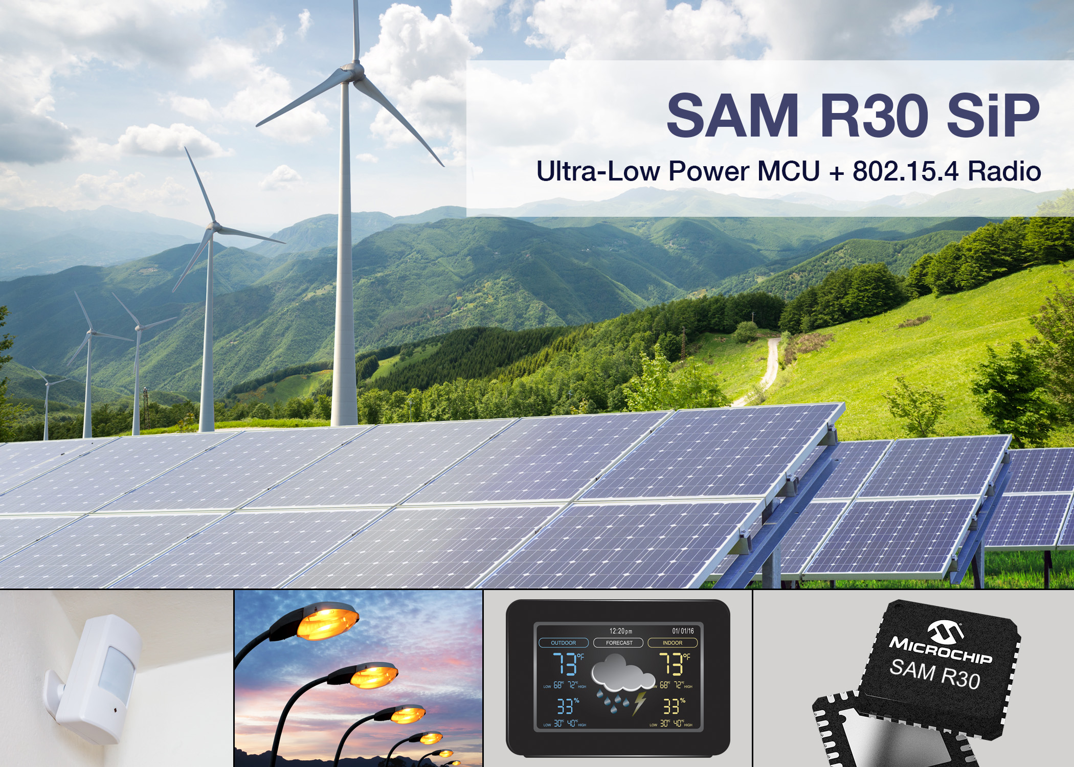 SAM R30 SiP suits wirelessly connected designs