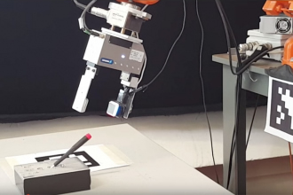GelSight technology provides robots with a sense of touch
